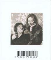 Le petit livre de l'amour entre les meres et leurs filles - 4ème de couverture - Format classique