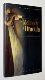 De melmth a dracula - Couverture - Format classique