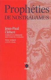 Propheties de nostradamus - Intérieur - Format classique