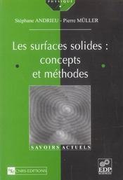 Les surfaces solides : concepts et méthodes - Intérieur - Format classique