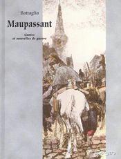 Bande dessinee maupassant - contes et nouvelles de guerre - Intérieur - Format classique