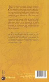 Memoire Vagabonde Ancienne Edition - 4ème de couverture - Format classique
