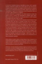 La gloire des imposteurs ; lettres sur le Mali et l'Afrique - 4ème de couverture - Format classique