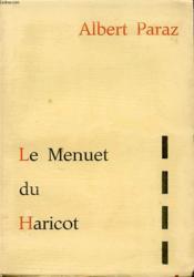 Le Menuet Du Haricot - Couverture - Format classique