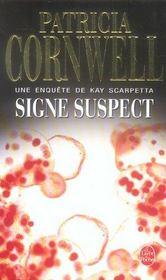 Signe suspect - Intérieur - Format classique