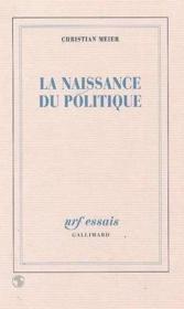 La naissance du politique - Couverture - Format classique