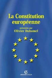 La constitution européenne - Couverture - Format classique