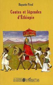 Contes et légendes d'Ethiopie - Couverture - Format classique