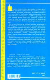Les Reseaux - 4ème de couverture - Format classique