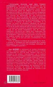 Universalite, Diversite, Sujet Dans L'Espace Pedagogique - 4ème de couverture - Format classique