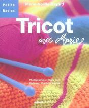 Tricot Avec Marie - Intérieur - Format classique