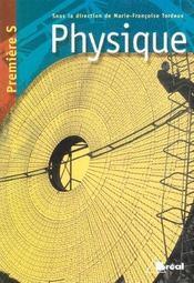 Physique ; 1e s - Intérieur - Format classique