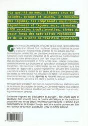 Legumes Au Naturel - Crus, Cuits, Frais, Secs, Associes A Des Cereales - 4ème de couverture - Format classique