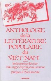 Anthologie de la littérature populaire du Viet-Nam - Couverture - Format classique