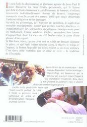 Rire et pleurer avec Jean-Paul II ; Fioretti authentiques - 4ème de couverture - Format classique
