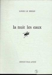 Nuit Les Eaux (La) - Couverture - Format classique