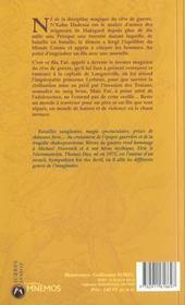 Reves De Guerre - 4ème de couverture - Format classique