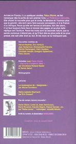 Revue Breves N.66 ; Fatou Diome - 4ème de couverture - Format classique