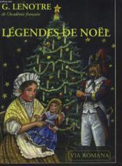 Légendes de noël : contes historiques - Couverture - Format classique