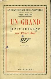 Un Grand Personnage. - Couverture - Format classique