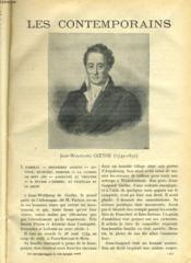 Jean-Wolfgang Goethe (1749-1832) - J. Vasate - Couverture - Format classique