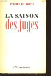 La Saison Des Juges - Couverture - Format classique