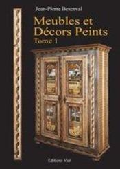 Meubles Et Decors Peints - Couverture - Format classique