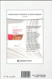 Langue française N.190 ; 2/2016 - 4ème de couverture - Format classique