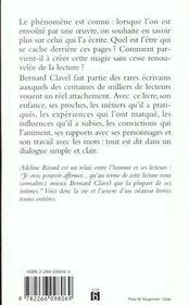 Bernard Clavel Qui Etes-Vous - 4ème de couverture - Format classique