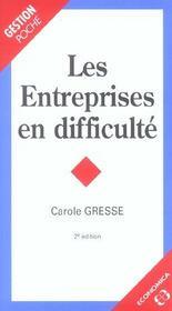 Entreprises En Difficulte (Les) - Intérieur - Format classique