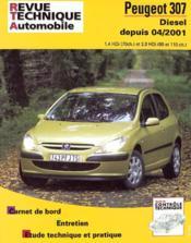 Rta 678.1 Peugeot 307 Hdi Depuis 04/2001 - Couverture - Format classique