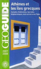 Geoguide ; Athènes Et Les Iles Grecques (Edition 2007-2008) - Intérieur - Format classique
