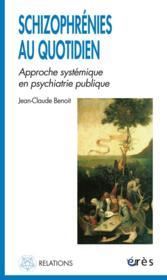 Schizophrenies Au Quotidien ; Approche Systemique En Psychiatrie Publique - Couverture - Format classique