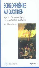 Schizophrenies Au Quotidien ; Approche Systemique En Psychiatrie Publique - Intérieur - Format classique