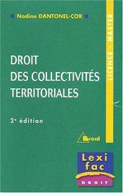 Collectivites territoriales - Intérieur - Format classique