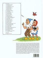 Sylvain et Sylvette t.2 ; la chasse au canard - 4ème de couverture - Format classique