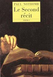 Le second recit l autre lecture de la genese - Intérieur - Format classique