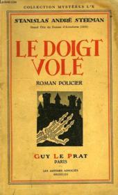 Le Doigt Vole - Couverture - Format classique