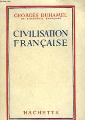 Civilisation Francaise - Couverture - Format classique