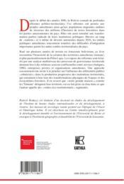 Une écologie politique des territoires Tsimane' d'Amazonie bolivienne - 4ème de couverture - Format classique