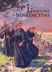 L'histoire des Bénédictins en BD - Couverture - Format classique