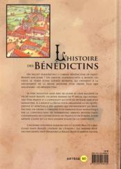 L'histoire des Bénédictins en BD - 4ème de couverture - Format classique