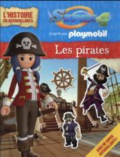 Playmobil Super 4 ; l'histoire en autocollants ; les pirates - Couverture - Format classique