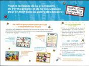 Mes leçons de français ; CM1, CM2, 6e ; 50 cartes mentales - 4ème de couverture - Format classique
