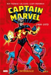 Captain Marvel ; INTEGRALE VOL.2 ; 1969-1970 - Couverture - Format classique