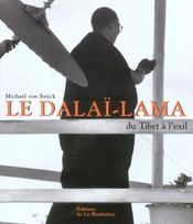 Dalai Lama, Du Tibet A L'Exil - Intérieur - Format classique