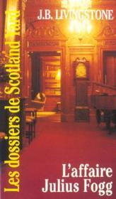 L Affaire Julius Fogg - Couverture - Format classique