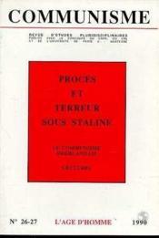 C26/27 Communisme 1990 - Couverture - Format classique