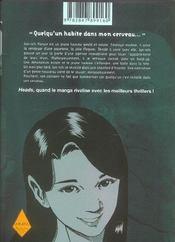 Heads t.2 - 4ème de couverture - Format classique