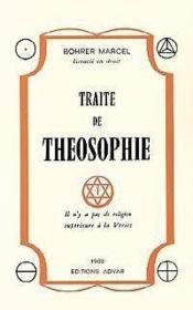 Traite de theosophie - Couverture - Format classique